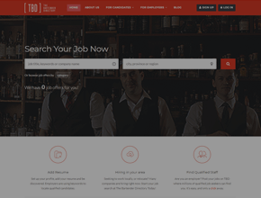 bartender professional job search site